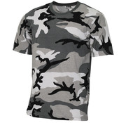 MFH Outdoor MFH - Kinder T-shirt  -  Urban camo  -  145 g/m2