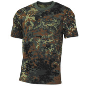 "MFH Outdoor MFH - Kinder T-Shirt -  ""Basic"" -  flecktarn -  140-145 g/m²"