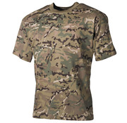 "MFH Outdoor MFH - Kinder T-Shirt -  ""Basic"" -  operation-camo -  140-145 g/m²"