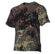 MFH Outdoor MFH - Kinder T-Shirt -  flecktarn -  halbarm -  170 g/m²