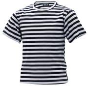 MFH Outdoor MFH - Russisch Marine Kinder T-shirt  -  Wit met blauw