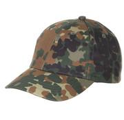 MFH Outdoor MFH - Kinder BB Cap -  mit Schild -  größenverstellbar -  flecktarn
