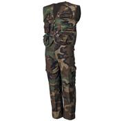 MFH Outdoor MFH - Kinder-Anzug -  Weste und Hose -   -  woodland -  Hosenbeine abnehmbar