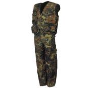 MFH Outdoor MFH - Kinder pak  -  Vest en broek  -  Vlekken camouflage  -  Afneembare broek