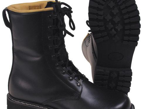 MFH Outdoor MFH - Combat Boots  -  Volledige lederen  -  Zwart