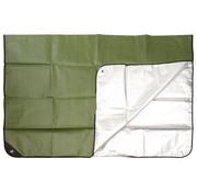 MFH Outdoor MFH - Noodzeil  -  OD groen  -  aan de ene kant met aluminium gecoate