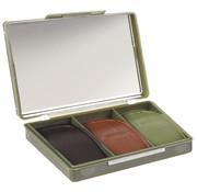 MFH Outdoor MFH - GB Camo Schmink  -  3 kleuren  -  met spiegel  -  45 g