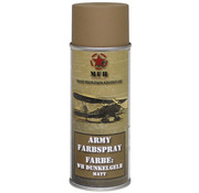 MFH Outdoor MFH - Leger Spray Paint  -  WH DONKERGEEL  -  Matteüs  -  400 ml