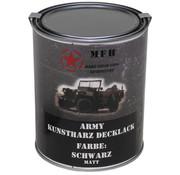 MFH Outdoor MFH - De Vernis van het leger  -  Zwarte  -  Matteüs  -    -  1 l