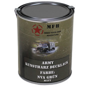MFH Outdoor MFH - Army Lack -  NVA GRÜN -  matt -  Dose -  1 l