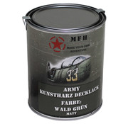 MFH Outdoor MFH - Army Lack -  WALD GRÜN -  matt -  Dose -  1 l