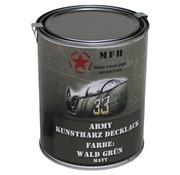 MFH Outdoor MFH - De Vernis van het leger  -  BOSGROEN  -  Matteüs  -    -  1 l