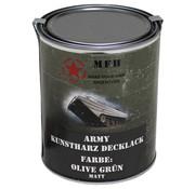 MFH Outdoor MFH - De Vernis van het leger  -  OLIJFGROEN  -  Matteüs  -    -  1 l