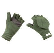 MFH Outdoor MFH - Strick-Faust-Fingerhandschuh -  oliv -  3M™ Thinsulate™