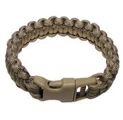 "MFH MFH - Armband -  ""Parachute Cord"" -  coyote tan -  Breite ca. 2 - 3 cm"