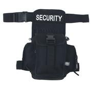 """MFH MFH - Hüft- und Oberschenkeltasche -  """"Security"""" -  schwarz"""
