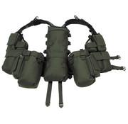 MFH MFH - Tactisch Vest  -  verschillende zakken  -  OD groen