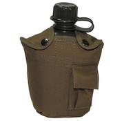 MFH MFH - Amerikaanse plastic kantine  -  1 l  -  Cover  -  coyote tan  -  BPA gratis