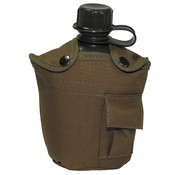 MFH MFH - US Plastikfeldflasche -  1 l -  Hülle -  coyote tan -  BPA-frei