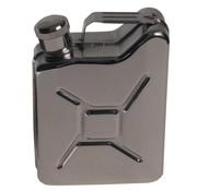 """MFH MFH - Taschenflasche -  """"Kanister"""" -  Edelstahl -  6 OZ -  170 ml"""