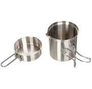 Fox Outdoor Fox Outdoor - Mess Kit  -  Rvs  -  Pot  -  Pan
