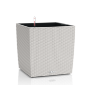 Lechuza Lechuza - Pflanzgefäß CUBE COTTAGE 30 light grey ALL-IN-ONE Set