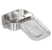 Fox Outdoor Fox Outdoor - Lunchbox  -  Rvs  -  ca. 16 x 13 x 6  -  2 cm