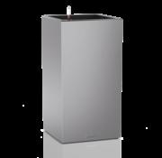 Lechuza Lechuza - plantenbak CANTO PREMIUM High 40 zilver metallic ALL-IN-ONE set