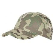 MFH Outdoor US Army cap met klep operation-camo in grootte verstelbaar