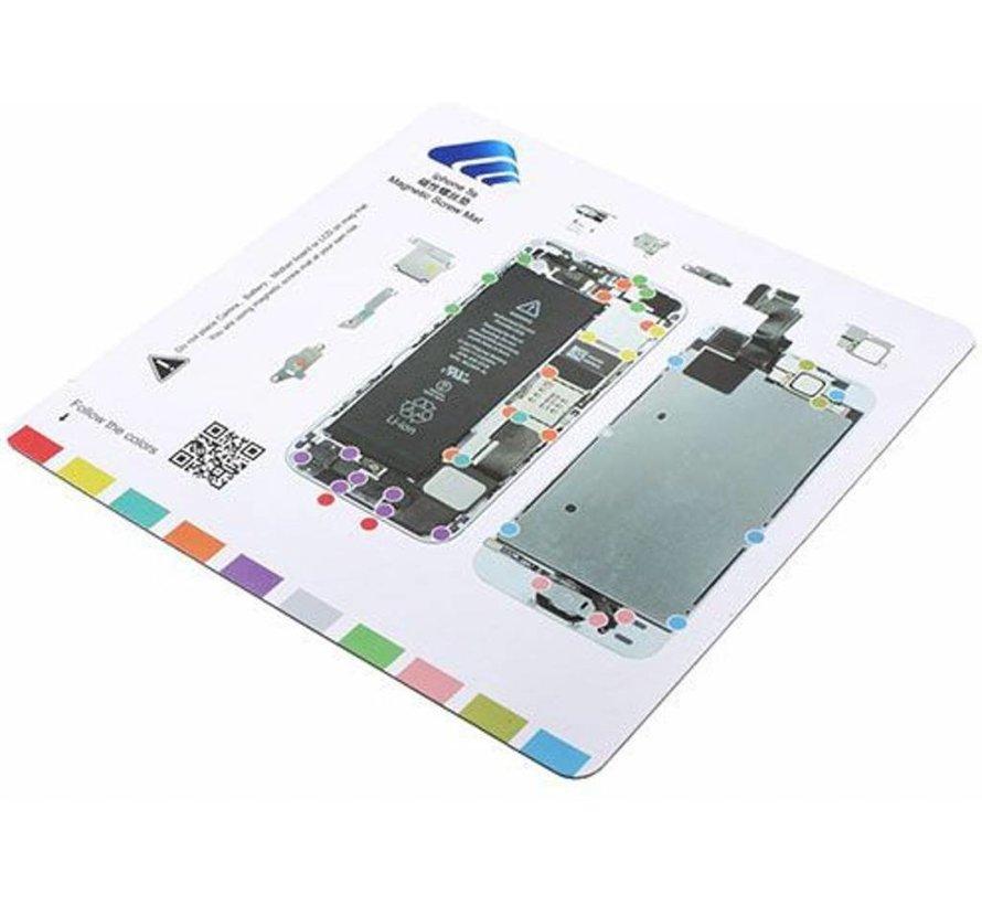 iPhone SE magnetische schroefmat