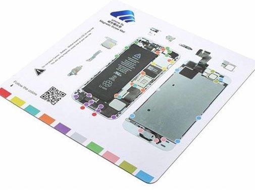 iPhone 8 magnetische schroefmat