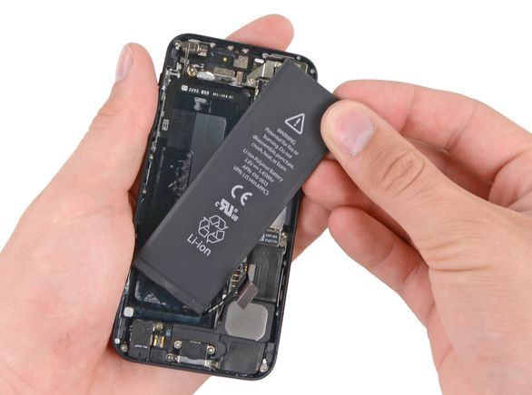 iPhone 5s batterij vervangen