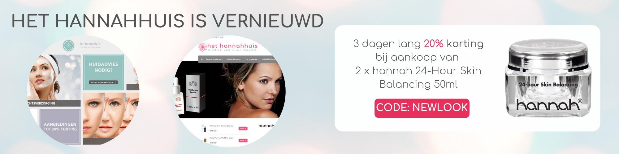 Huidverzorgings webshop banner 1