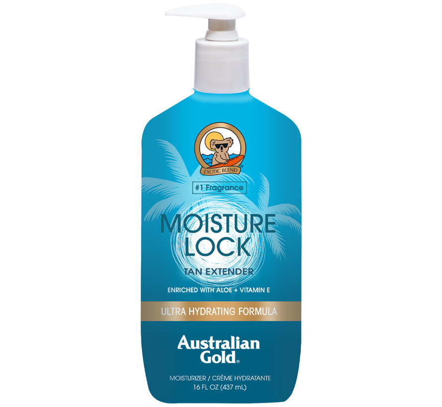 Moisture Lock - Nawilżający balsam po opalaniu przedłużający opaleniznę