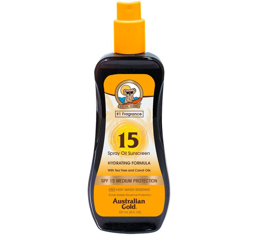 SPF 15 Olejek w Sprayu- Ochrona Przeciwsłoneczna