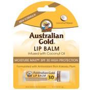 Australian Gold Lip Balm Stick - Nawilżający balsam do ust z filtrem ochronnym SPF 30, 4,2 g