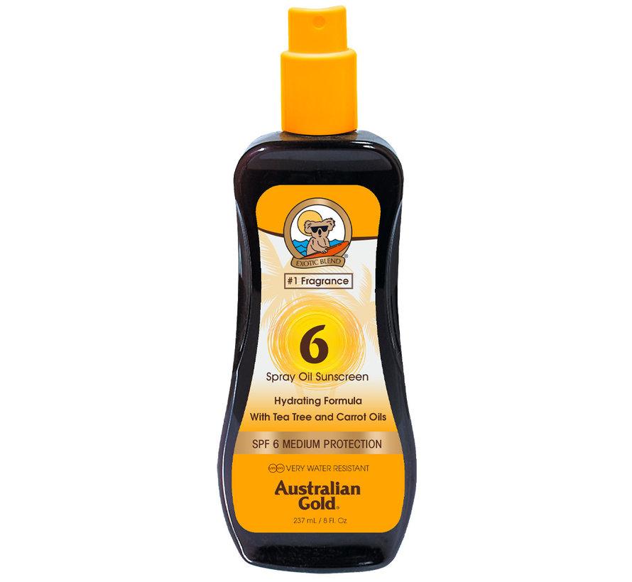 SPF 6 Olejek w Sprayu- Ochrona Przeciwsłoneczna
