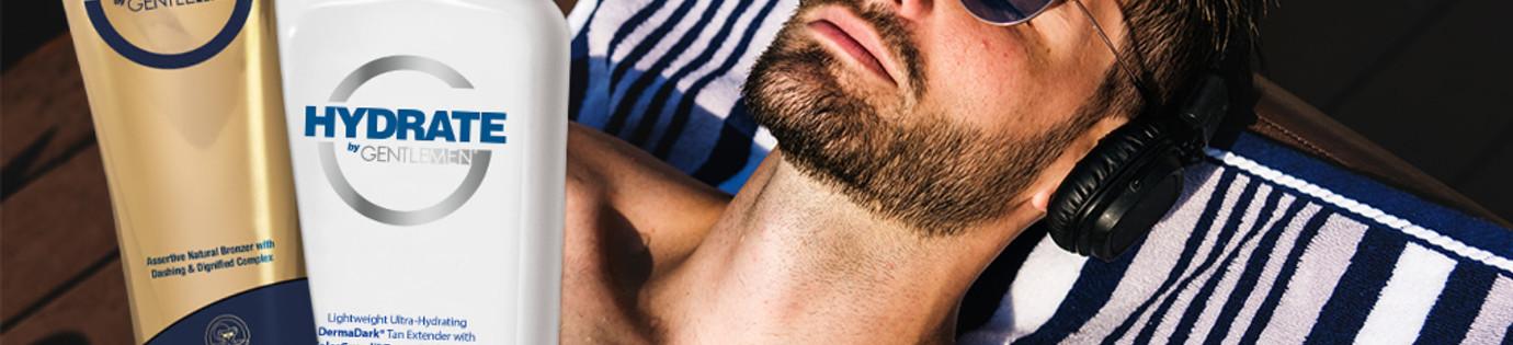 Kosmetyki do opalania w solarium dla mężczyzn- linia G Gentlemen