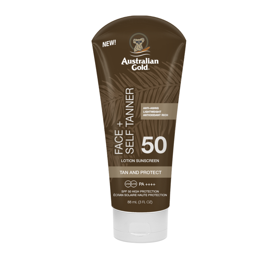 SPF 50 Face With Self Tanner 88 ml