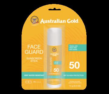 Australian Gold Face Guard Stick - Poręczny sztyft przeciwsłoneczny do twarzy SPF 50, 14 g
