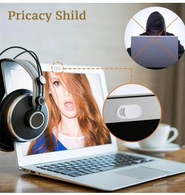 Universele Webcam Cover (pack van 3), Dunste en goedkoopste webcamcover protector, anti-spy schuifje