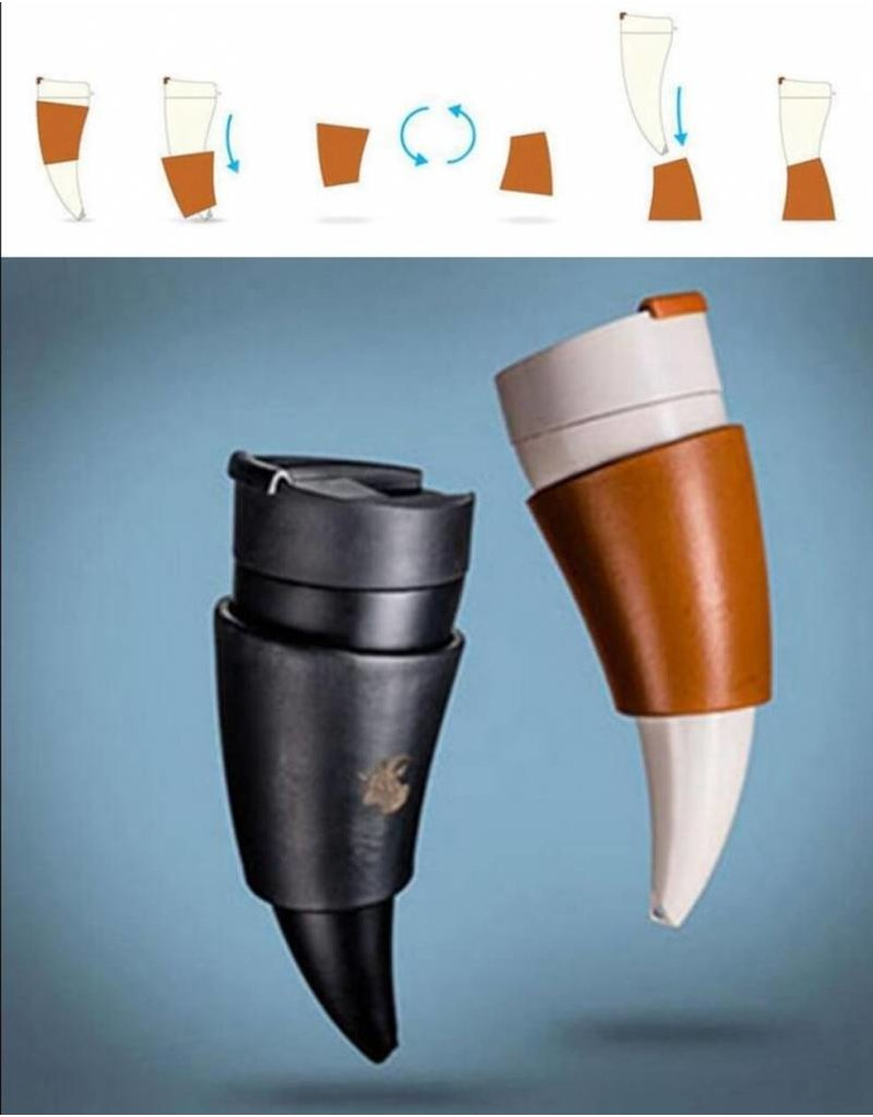 Unieke design thermosfles voor langdurig warme dranken