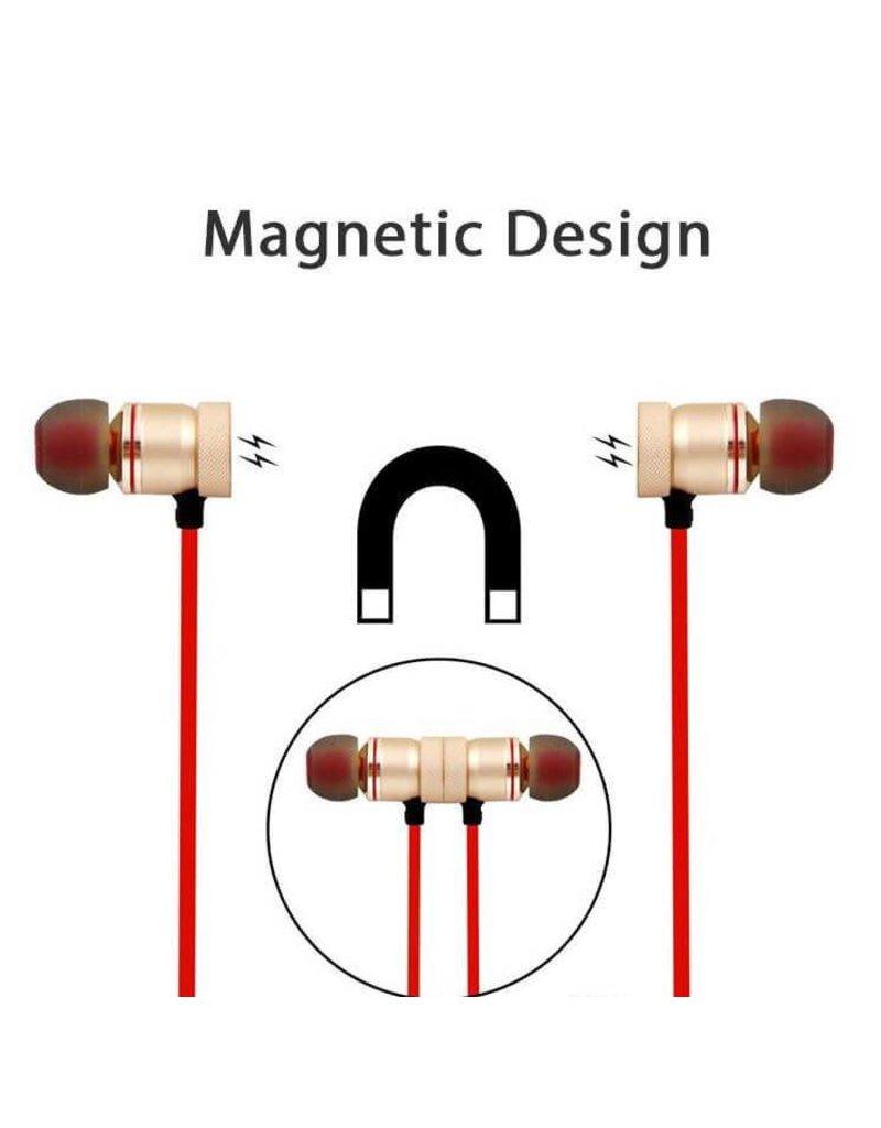Sport headset, Draadloos in-ear oordopjes, oplaadbaar en Waterdicht
