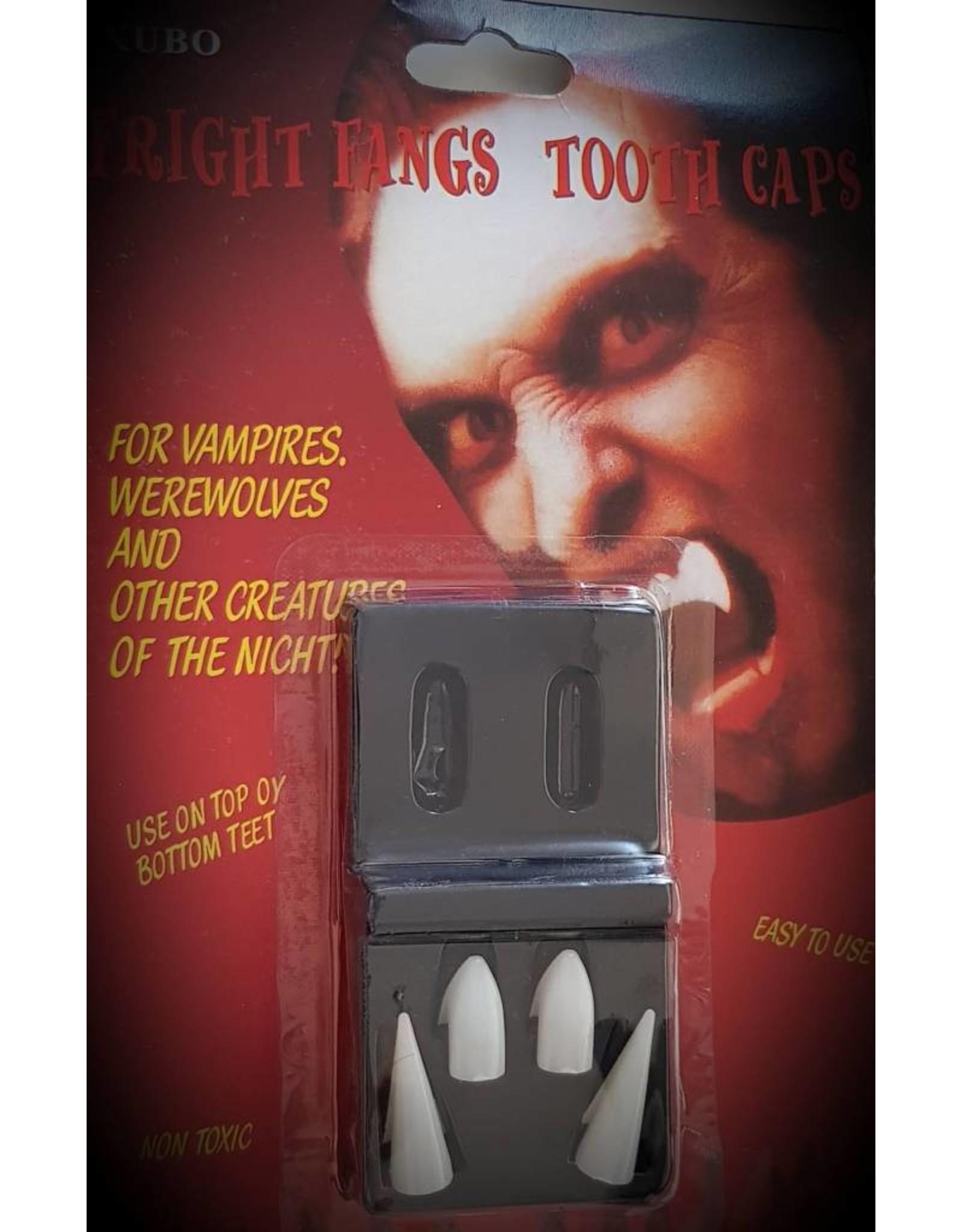 2 Paar Halloween Vampire Tanden, 2 verschillende lengtes