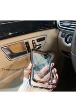 Original By Trendy Gadget Luxueuse Magnetische Samsung hoesje, Transparant, voor 360 graden bescherming van je smartphone | Simpele montage | Absorptie mechanisme | Transparant | Geschikt voor draadloos laden