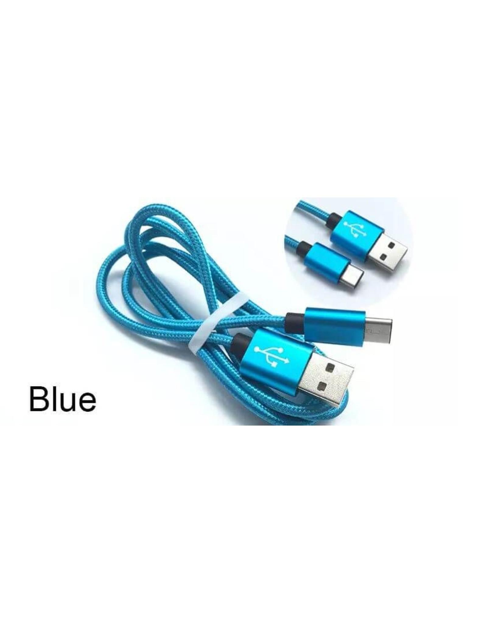 Hoge kwaliteit snellaadkabel, Datakabel Type-C naar USB voor Samsung, 1 meter lang, oplaadkabel