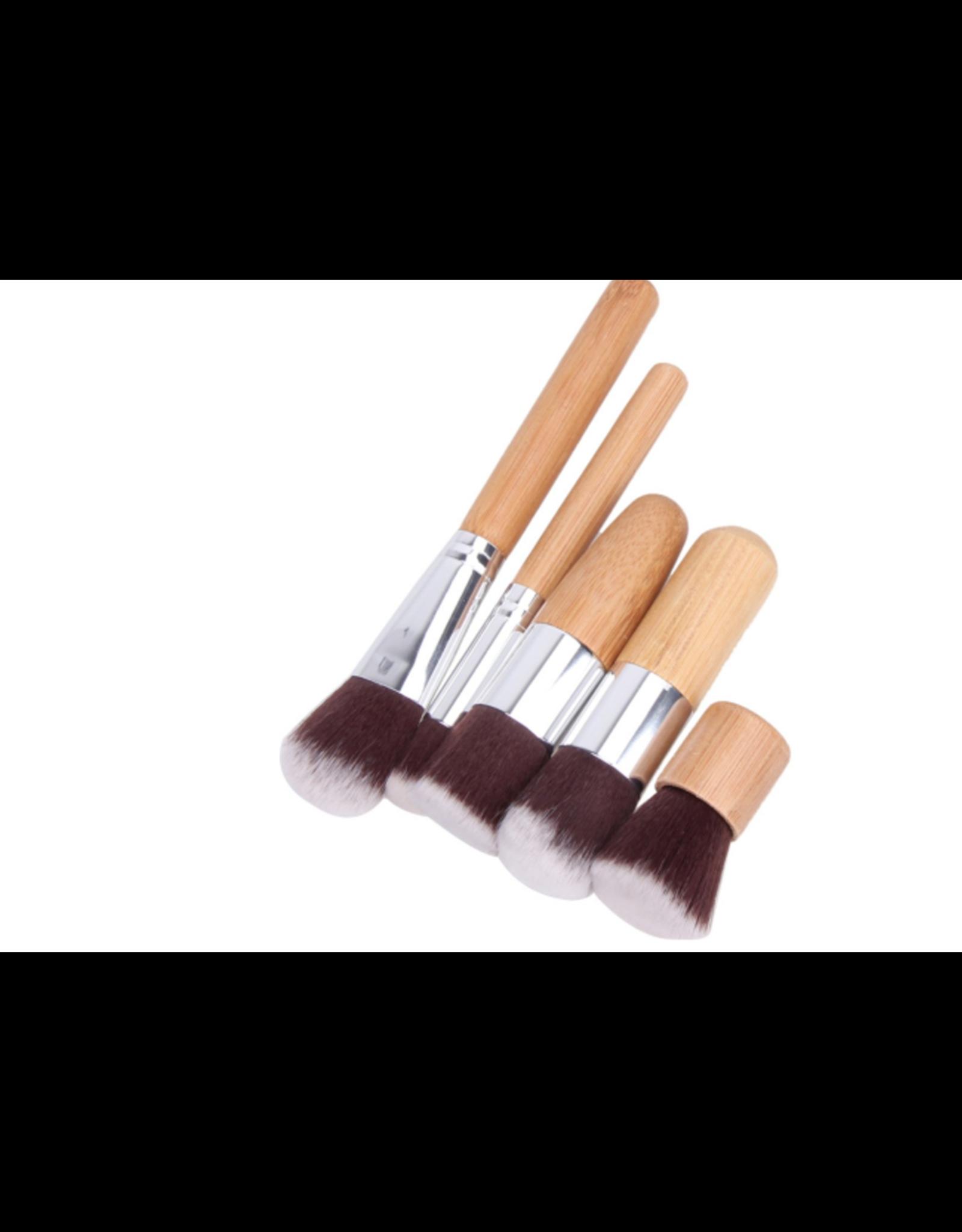 Professionele 11-Delige Make Up Kwasten Set