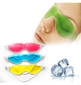 Gel-oogmasker warm/koud tegen vermoeidheid, hoofdpijn, wallen en rimpels