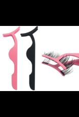 Set van 2 magnetische Pincetten / clip voor makkelijke plaatsing neppe wimpers, ook magnetische wimpers