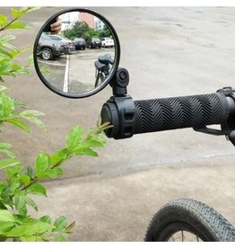Universeele fietsspiegel, stuurbevestiging
